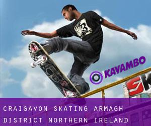 Craigavon skating (Armagh District, Northern Ireland)