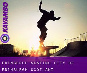Edinburgh skating (City of Edinburgh, Scotland)