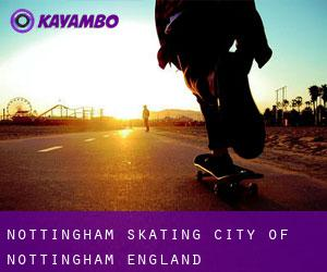 Nottingham skating (City of Nottingham, England)